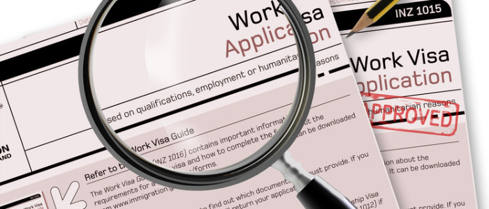 Tier 2 work visa application