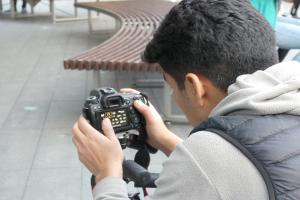 Pictures - This is how our photography workshop with NUA went!